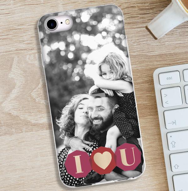 I Heart You Photo iPhone Phone Case