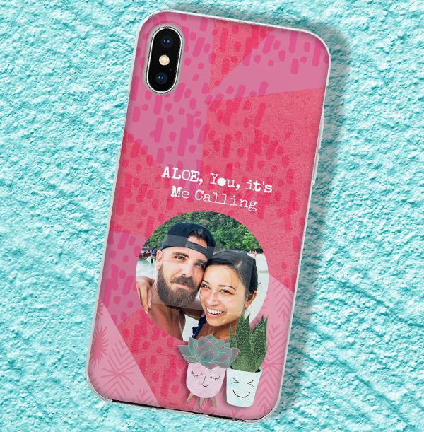 Aloe You Photo iPhone Case