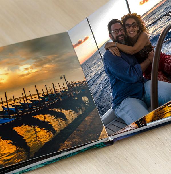 8x6 Hard Cover Landscape Photo Book