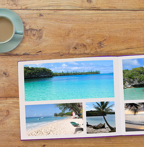 11x8 Hard Cover Landscape Photo Book