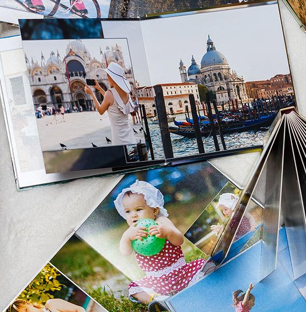 8x8 Soft Cover Square Photo Book