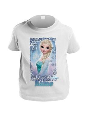 Disney Frozen Personalised Kids T-Shirt - Elsa