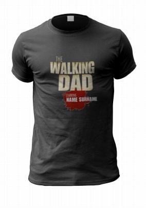 The Walking Dad Box Set Spoof Personalised T-Shirt