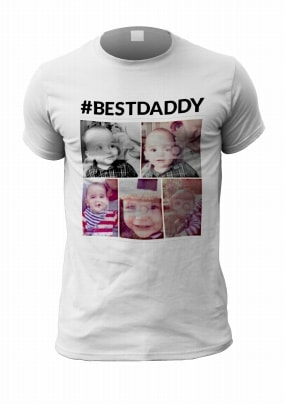 Best Daddy Personalised Photo T-Shirt