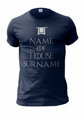 Your Family House Personalised T Shirt