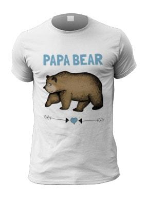 Papa Bear Men's T-Shirt