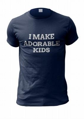 I Make Adorable Kids Men's T-Shirt