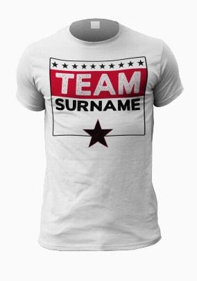 Family Team Personalised Men's T-Shirt
