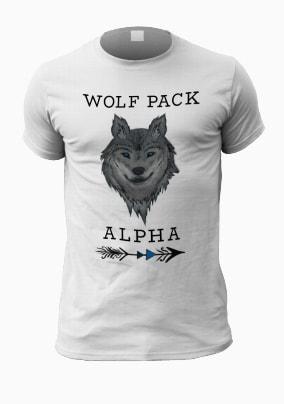 Wolf Pack Alpha Men's T-Shirt