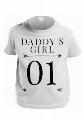 Daddy's Girl 01 Personalised T-Shirt