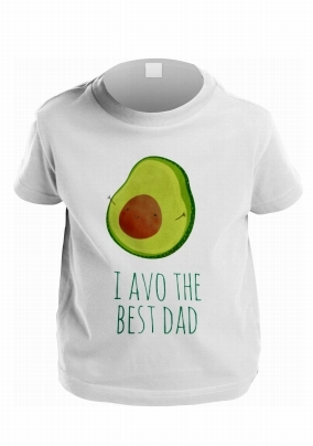 I avo the Best Dad Personalised Kid's T-Shirt