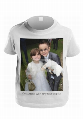 Customise your own Photo Kid's T-Shirt