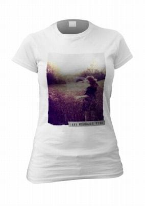 Full Photo Grunge Effect Personalised T-Shirt