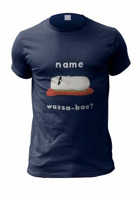 Wassa-bae Personalised T-Shirt