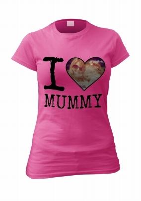 I Love Mummy Personalised Photo T-Shirt