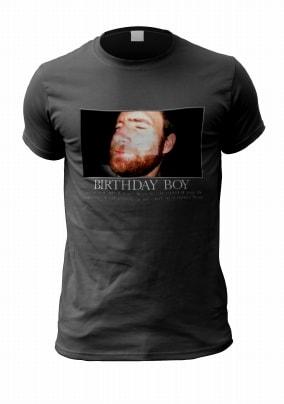 Funny Birthday Boy Personalised Photo T-Shirt