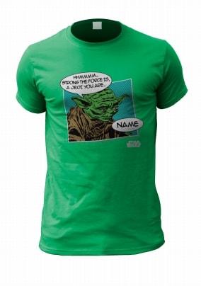Personalised Star Wars Men's T-Shirt - Yoda