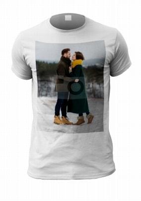 Full Photo Upload Men's T-Shirt