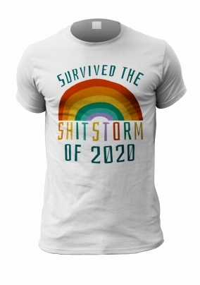 Survived the Sh*tstorm Personalised T-Shirt