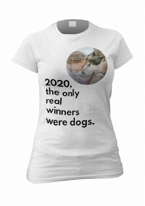 2020 The Only Real Winners Personalised T-Shirt