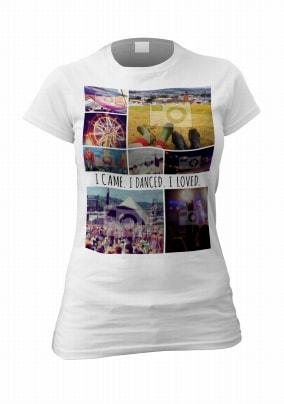 Dance & Love Personalised Women's Photo T-Shirt
