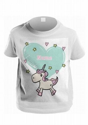 Unicorn Personalised Kids T-Shirt