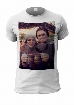 Christmas Full Photo Personalised T-Shirt