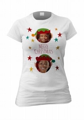 Merry Christmas Multi-Photo T-Shirt