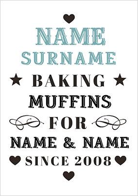 Alpha Betty - Baking Muffins Poster
