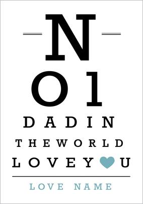 At First Sight - No1 Dad Poster