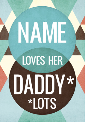 You. Me. Yes - Loves Daddy Lots Poster