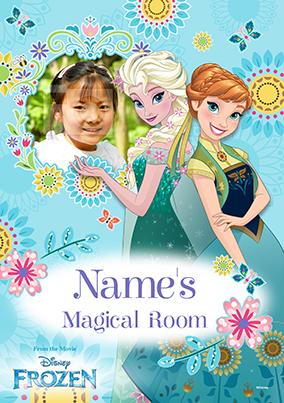 Elsa & Anna Summer Poster - Disney Frozen