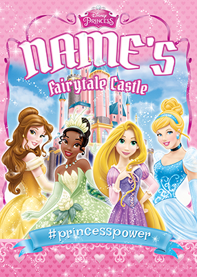 Disney Princess Fairytale Group Large Poster