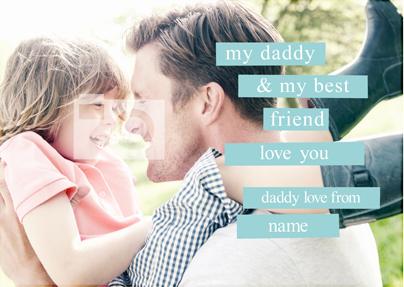Some Beautiful Place - Large Father's Day Poster