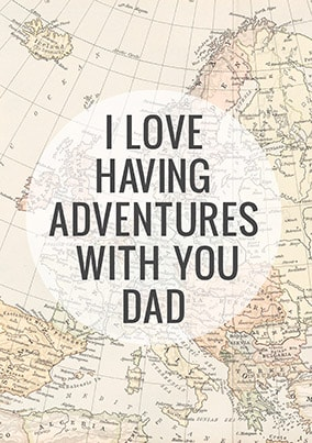 Adventures With Dad Poster