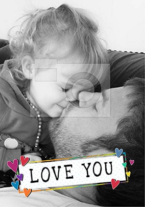 Love You Photo Poster