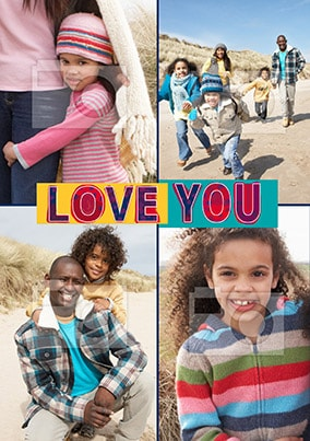 Love You Four Photo Poster
