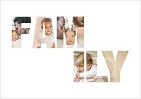 Family Photo Upload Poster
