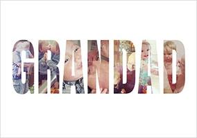 Grandad Photo Upload Poster