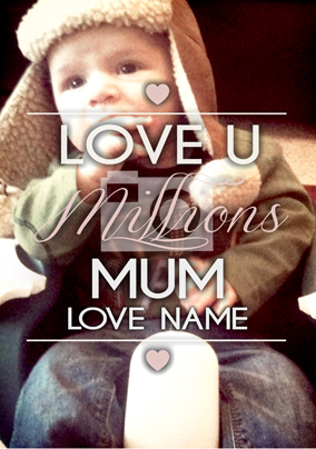 Life Is Sweet Millions Mum Poster