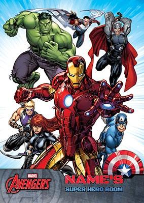 Marvel Avengers - Group Super Hero Large Poster