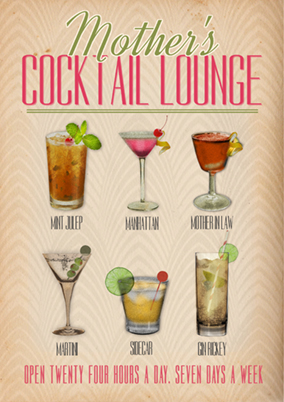 Daisy & Jay - Mother's Day Cocktail Lounge Poster