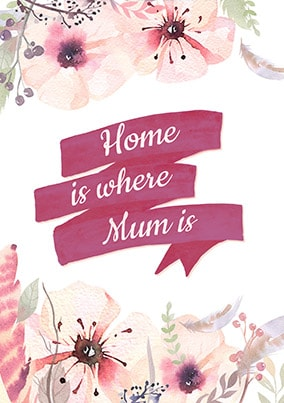 Home Is Where Mum Is Poster
