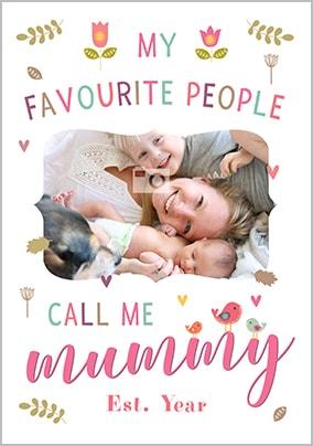 Call Me Mummy Photo Poster