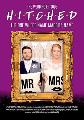 Wedding Episode Spoof Photo Upload Poster