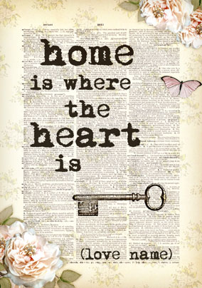 Bookish Type Home Is Poster