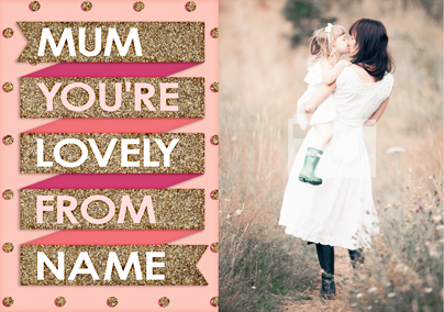 To the Stars - Lovely Mum Poster