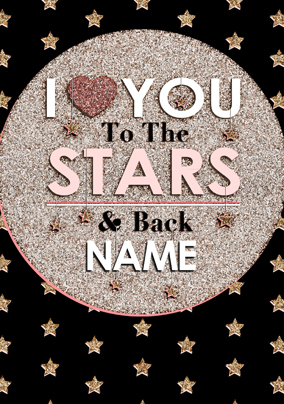 To the Stars - I Love You to the Stars poster