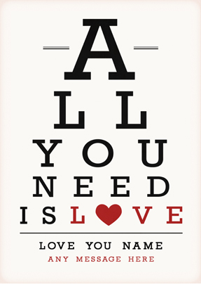 All You Need is Love Large Poster