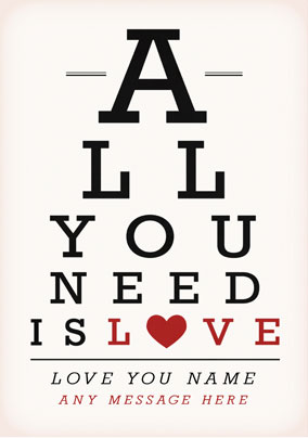 All You Need is Love Small Poster